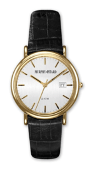 Murphy Jewelers Dress Watch With Leather Band